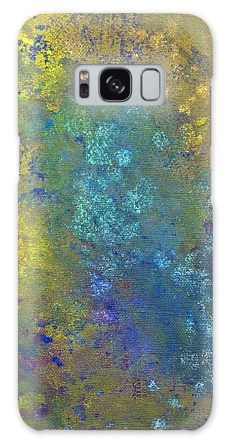 Non-objective Galaxy S8 Case featuring the painting Abstract 8 by Corina Bishop
