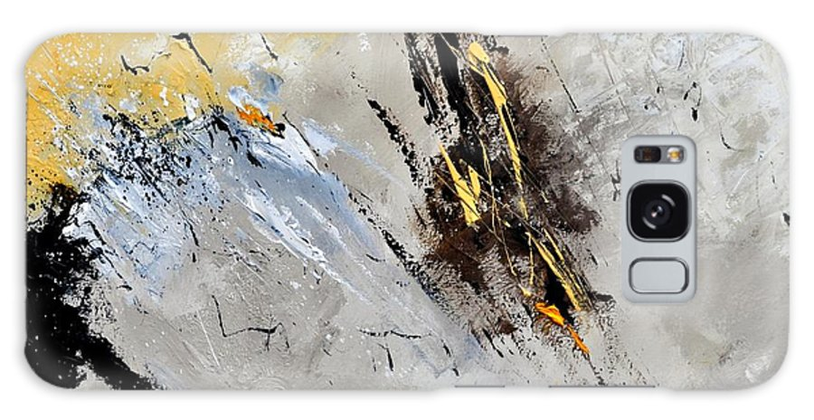 Abstract Galaxy S8 Case featuring the painting Abstract 8831801 by Pol Ledent