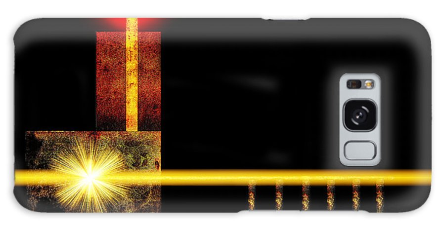 Church Galaxy S8 Case featuring the digital art Abstract Church by Ramon Martinez