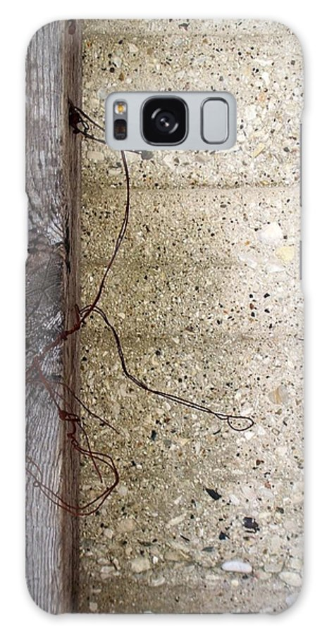 Industrial. Urban Galaxy S8 Case featuring the photograph Abstract Concrete 11 by Anita Burgermeister