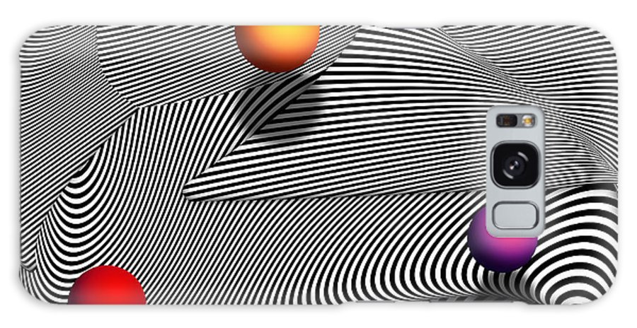 Moire Galaxy S8 Case featuring the photograph Abstract - Lines - That's A Moire by Mike Savad