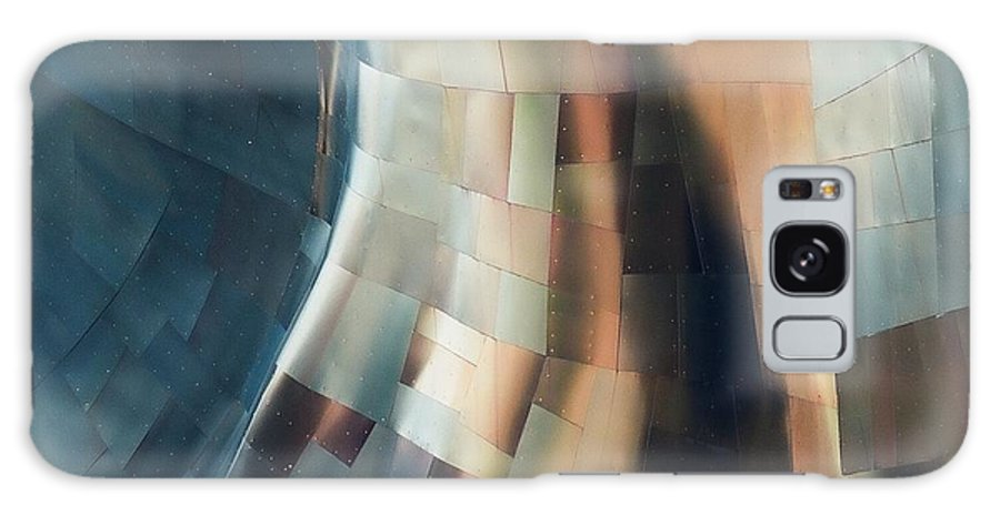 Architecture Galaxy S8 Case featuring the photograph Abstract Metal 4 by Dennis Knasel