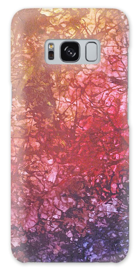 Estefan Gargost Galaxy S8 Case featuring the painting Abstract Tetraptych 4 Of 4 by Estefan Gargost