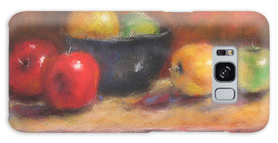 Apples Galaxy S8 Case featuring the painting Abundance by Suryadas Joel Holliman