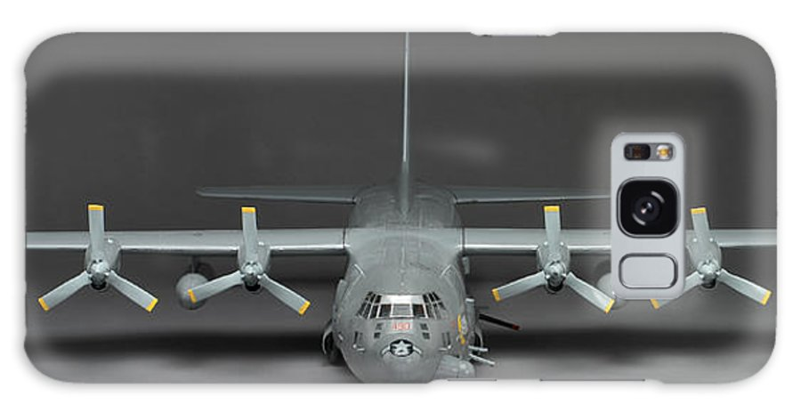 Ac 130 Gunship Galaxy S8 Case featuring the photograph Ac 130 Gunship by Robert Mollett