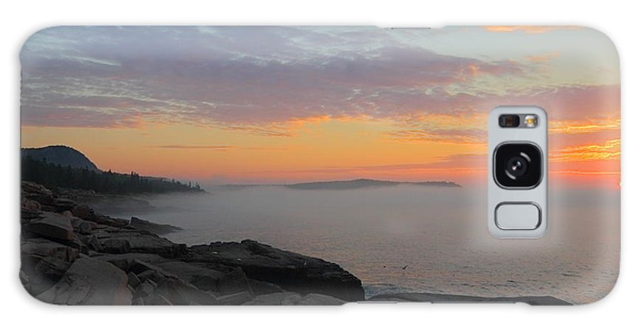 Acadia National Park Galaxy S8 Case featuring the photograph Acadia Sunrise 5 by Jeff Heimlich