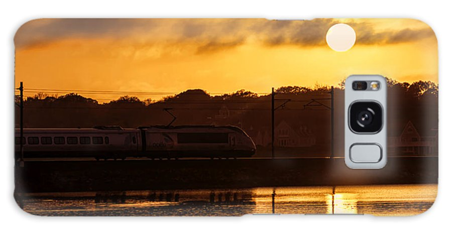 Acela Galaxy S8 Case featuring the photograph Acela Sunset by Joe Geraci