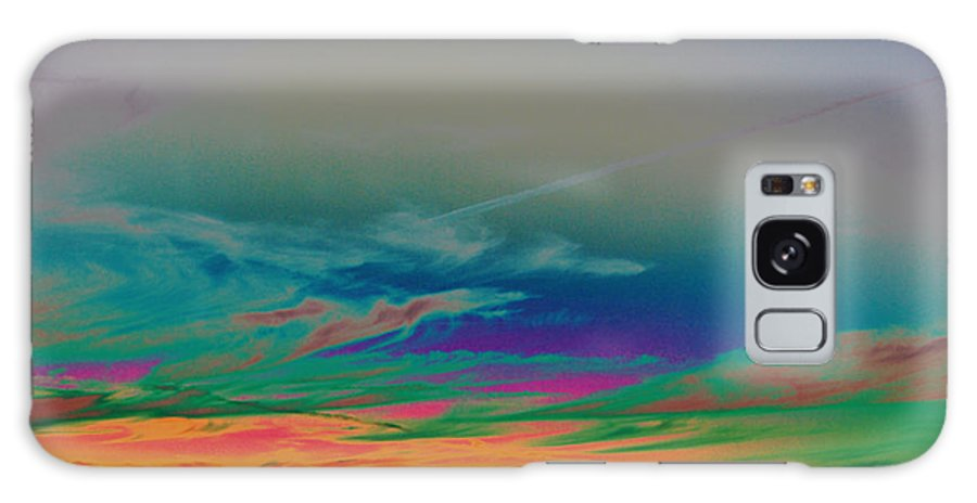 Trippy Galaxy S8 Case featuring the photograph Acid Sky by William Young