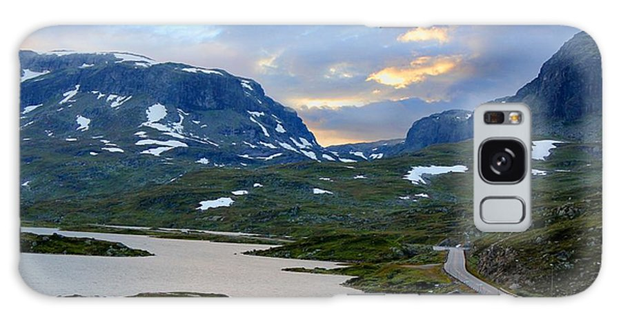 Alp Galaxy S8 Case featuring the photograph Across Scandinavian Mountains by Julia Fine Art And Photography