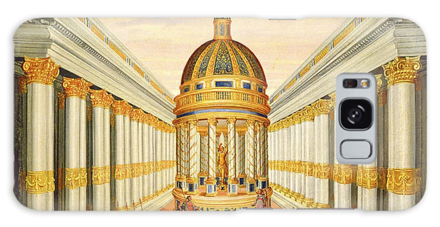 Bacchus Galaxy S8 Case featuring the painting Bacchus Temple by Giacomo Torelli