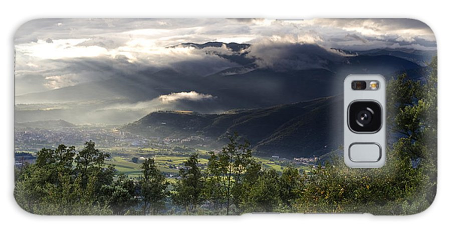 Northern Spain Galaxy S8 Case featuring the photograph After A Pyrenean Storm 1 by Michael David Murphy