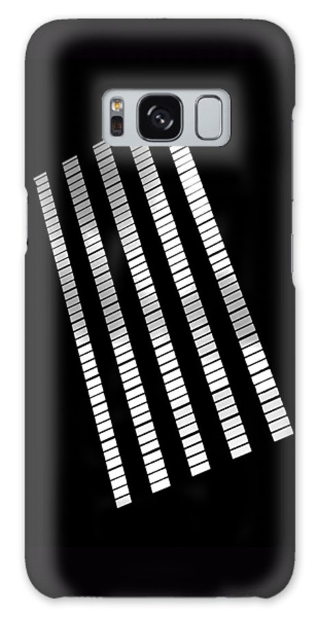 Abstract Galaxy S8 Case featuring the photograph After Rodchenko 2 by Rona Black