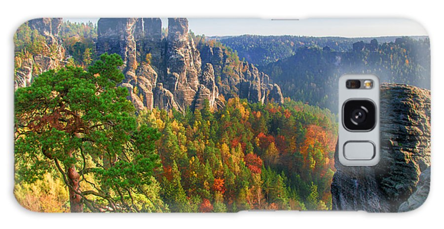 Germany Galaxy S8 Case featuring the photograph After The Sunrise On The Bastei by Sun Travels