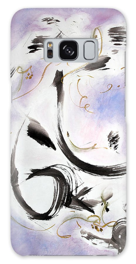 Abstract Painting Galaxy S8 Case featuring the painting Aftermath by Asha Carolyn Young