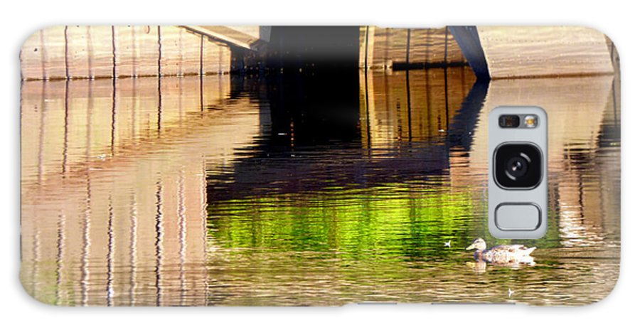 Water Galaxy S8 Case featuring the photograph Afternoon Illusion by Rennae Christman