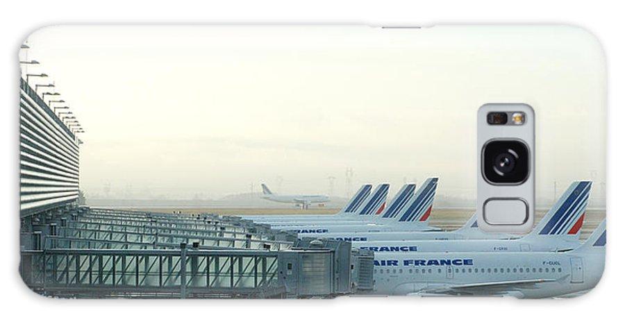 Air Galaxy S8 Case featuring the photograph Air France Paris Cdg by Philip Shone