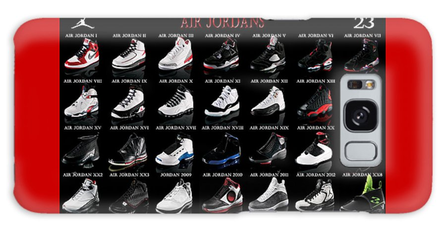 eea8a4ff08916c Air Jordan Shoe Gallery Galaxy S8 Case for Sale by Brian Reaves