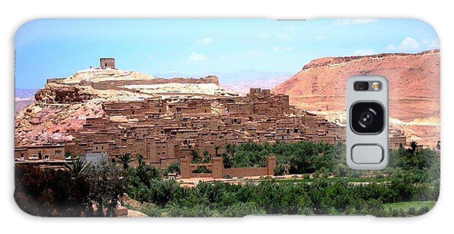 Morocco Galaxy S8 Case featuring the photograph Ait Ben Haddou by Teresa Ruiz