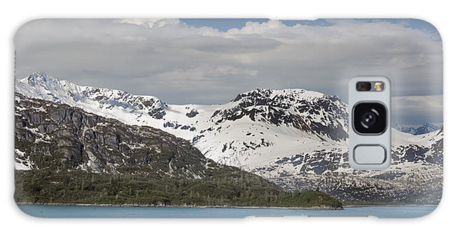 Landscape Galaxy S8 Case featuring the photograph Alaskan Snow Covered Mountian by Lynn Cromer