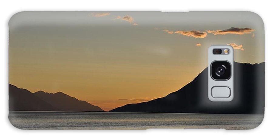Alaska Galaxy S8 Case featuring the photograph Alaskan Sunset by Deanna Cagle