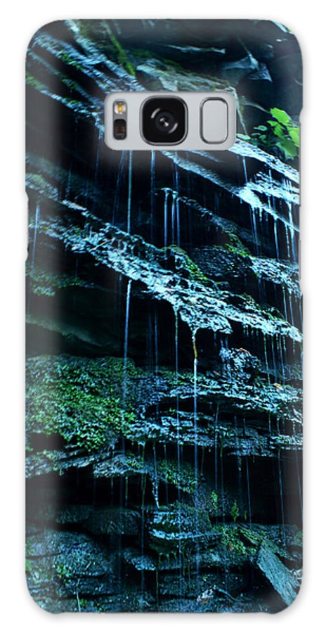 Landscape Galaxy S8 Case featuring the photograph Albion Waterfalls 3 by John Turner