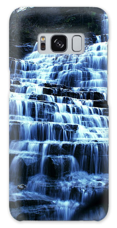 Landscape Galaxy S8 Case featuring the photograph Albion Waterfalls 5 by John Turner