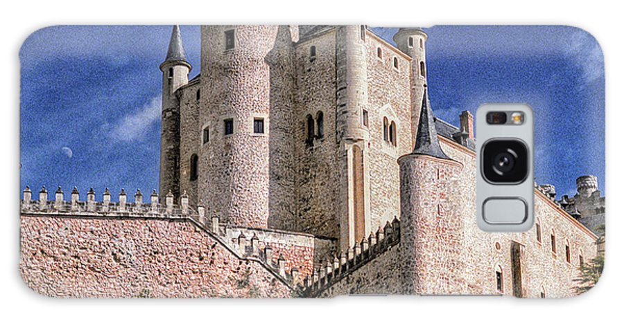 Alcazar Galaxy S8 Case featuring the photograph Alcazar Of Segovia by Nigel Fletcher-Jones