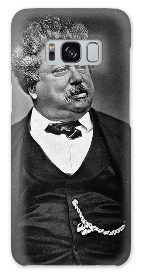 Male Galaxy S8 Case featuring the photograph Alexandre Dumas by French Photographer