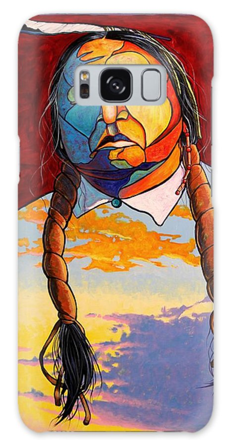 Spiritual Galaxy Case featuring the painting All That I Am by Joe Triano