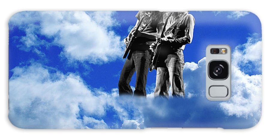 Allen Collins Galaxy S8 Case featuring the photograph Allen And Steve In Clouds by Ben Upham