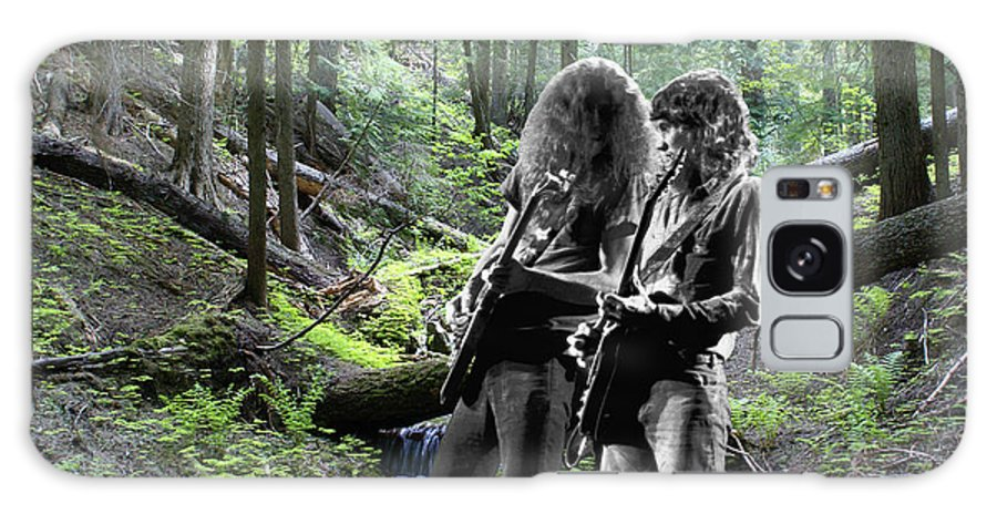 Allen Collins Galaxy S8 Case featuring the photograph Allen And Steve On Mt. Spokane 2 by Ben Upham