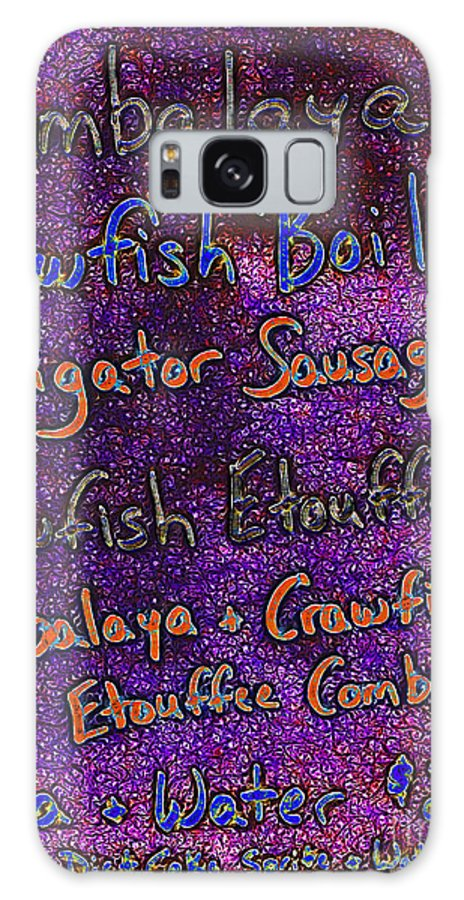 Menu Galaxy S8 Case featuring the photograph Alligator Sausage For Five Dollars 20130610 by Wingsdomain Art and Photography