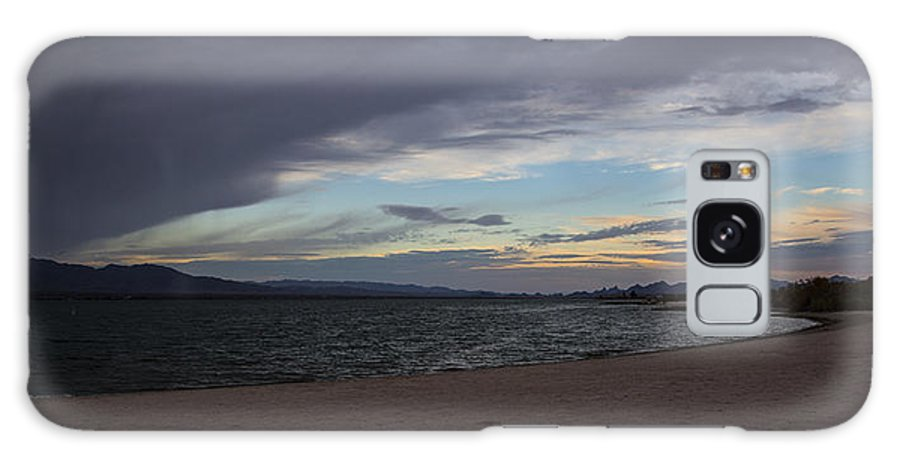 Lake Havasu City Galaxy S8 Case featuring the photograph Along The Water by Angus Hooper Iii