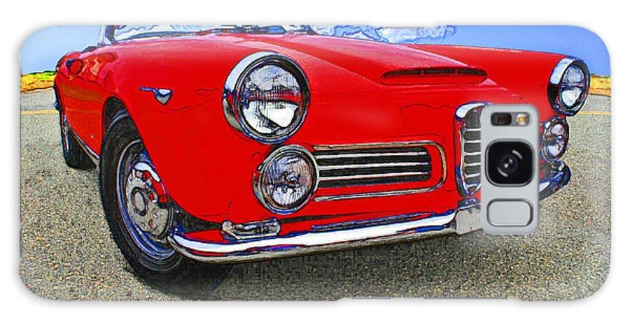 Car Cars Chrome Auto Autos Automobile Automobiles hot Rod hot Rods muscle Car muscle Cars Vintage Transportation alpha Romeo Galaxy S8 Case featuring the photograph Alpha Romeo Let's Go by David Caldevilla
