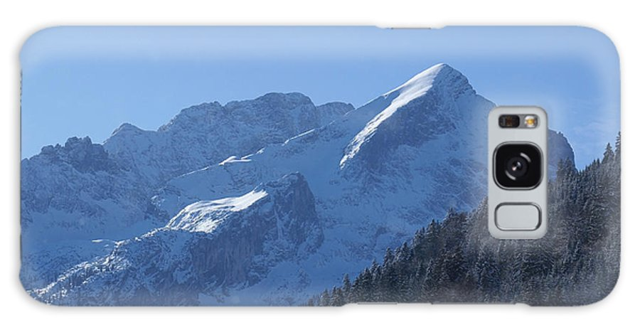 Nature Galaxy S8 Case featuring the photograph Alpspitze Bavaria 1 by Rudi Prott