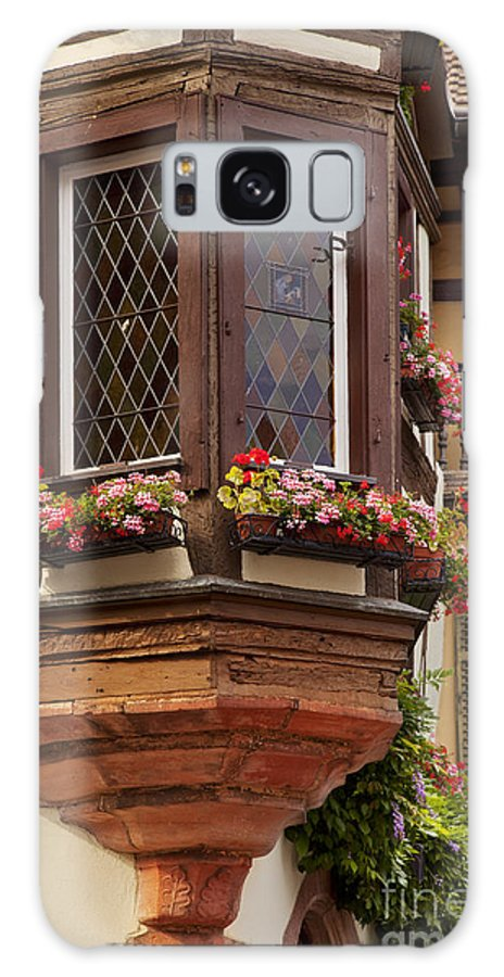 Kaysersberg Galaxy S8 Case featuring the photograph Alsace Window by Brian Jannsen
