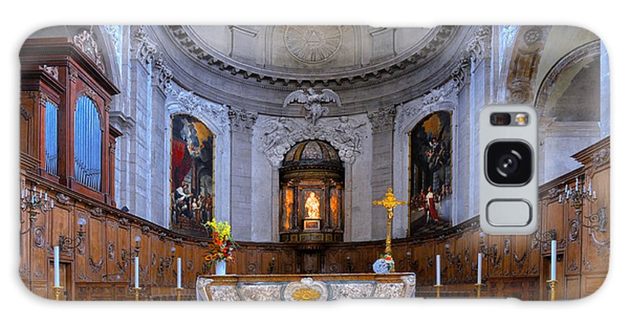 Alter Galaxy S8 Case featuring the photograph Alter At St Martins Cathedral by Dave Mills