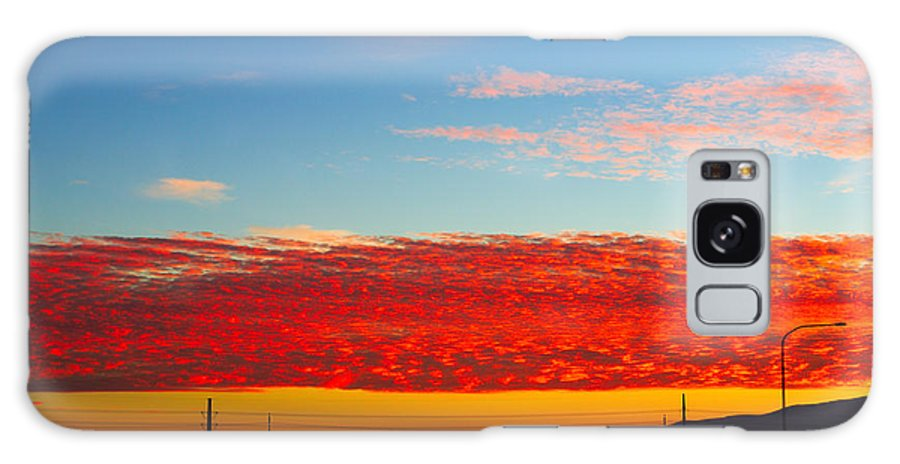 Clouds Galaxy S8 Case featuring the photograph Amazing Clouds by Southwindow Eugenia Rey-Guerra
