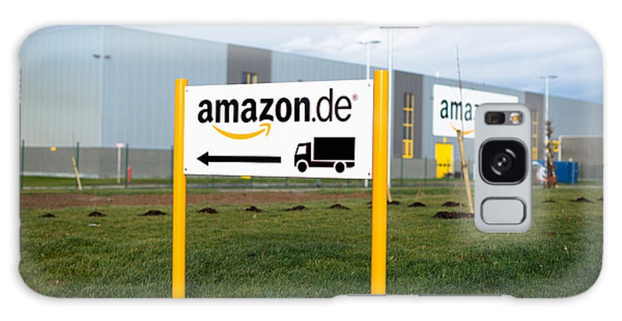 Amazon Galaxy S8 Case featuring the photograph Amazon Warehouse by Frank Gaertner