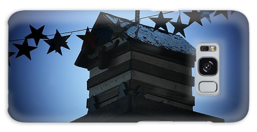 Stars And Stripes Galaxy S8 Case featuring the photograph American Bird House by Brandi Maher
