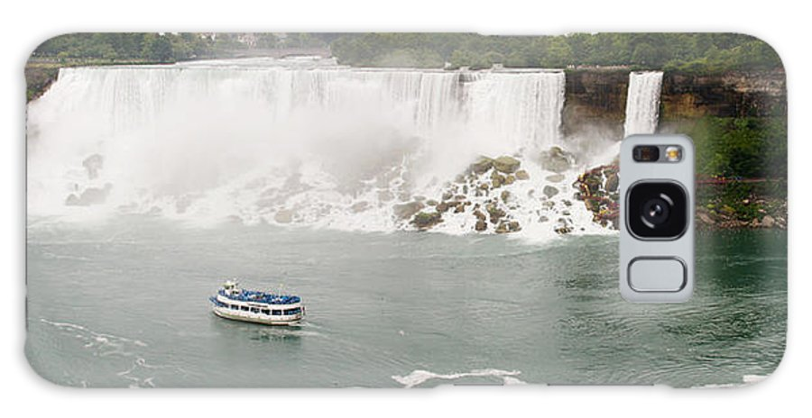 3scape Galaxy S8 Case featuring the photograph American Falls by Adam Romanowicz
