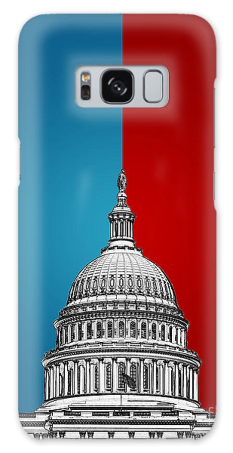 Politics Galaxy S8 Case featuring the digital art American Politics by Phil Perkins