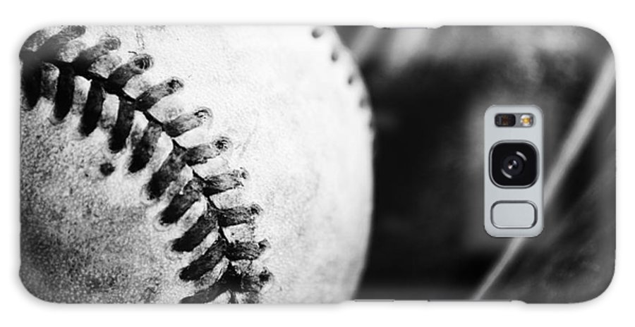 Baseball Galaxy S8 Case featuring the photograph America's Pastime by Rachel Barrett