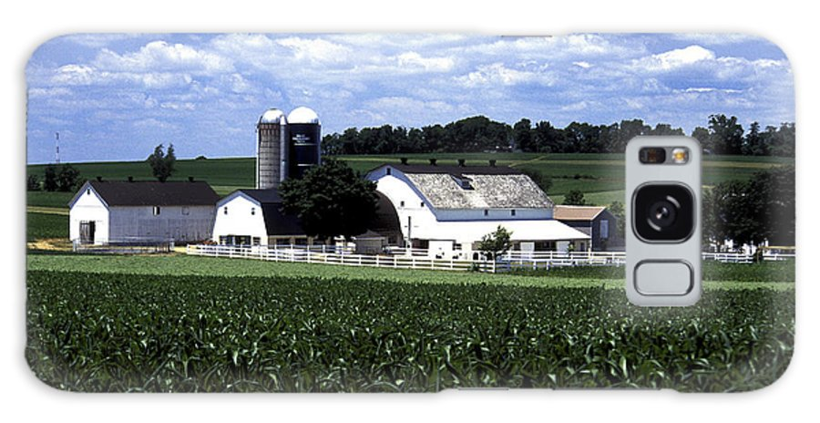 Amish Galaxy S8 Case featuring the photograph Amish Country - 38 by Paul W Faust - Impressions of Light