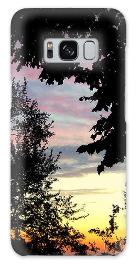 Sunset Sky Galaxy S8 Case featuring the photograph Ams 22a by Scott B Bennett