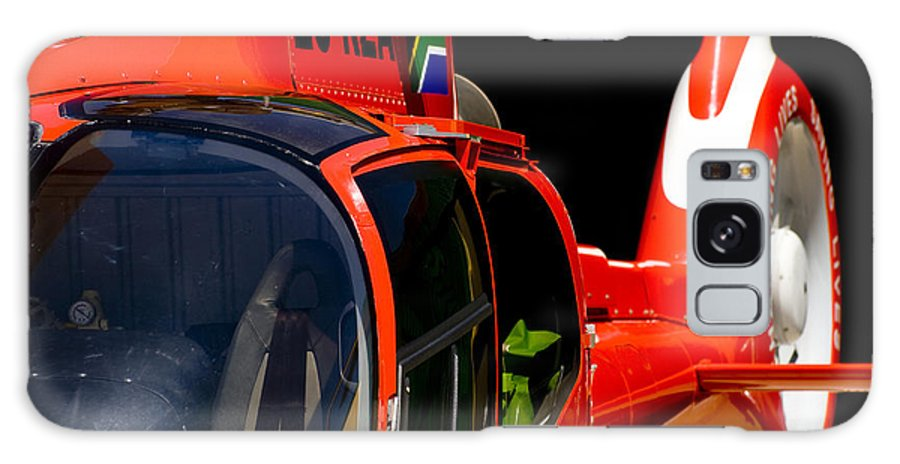 Aviation Galaxy S8 Case featuring the photograph Ams Waiting by Paul Job