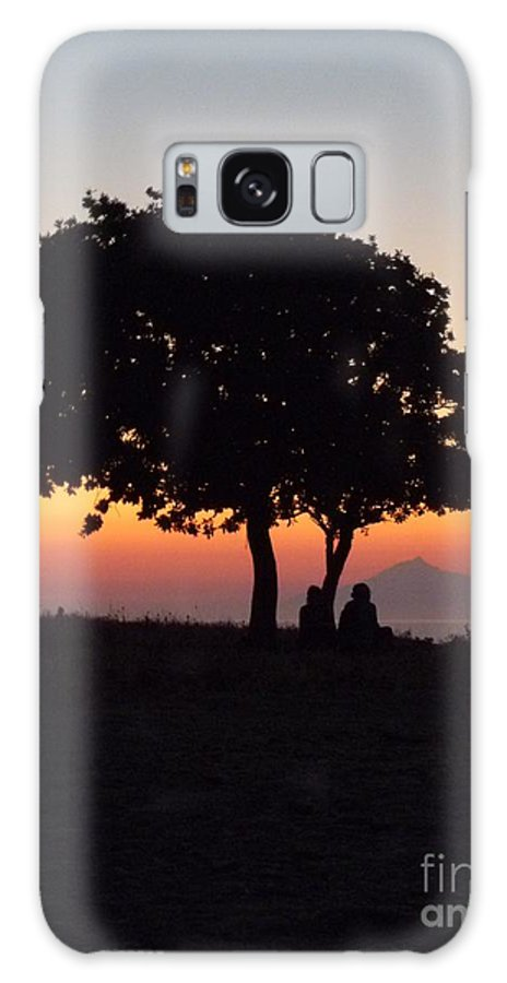 Darkness Galaxy S8 Case featuring the photograph An African Sunset by Vicki Spindler