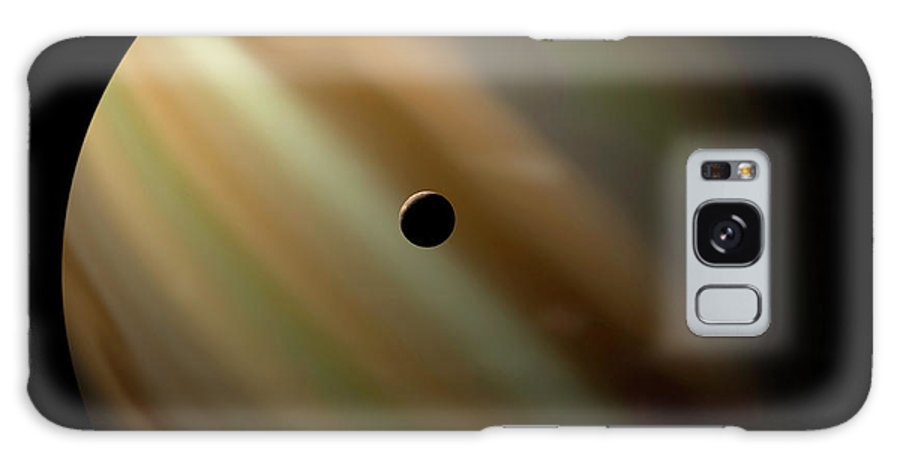 Concepts & Topics Galaxy Case featuring the digital art An Artists Depiction Of A Gas Giant by Marc Ward/stocktrek Images
