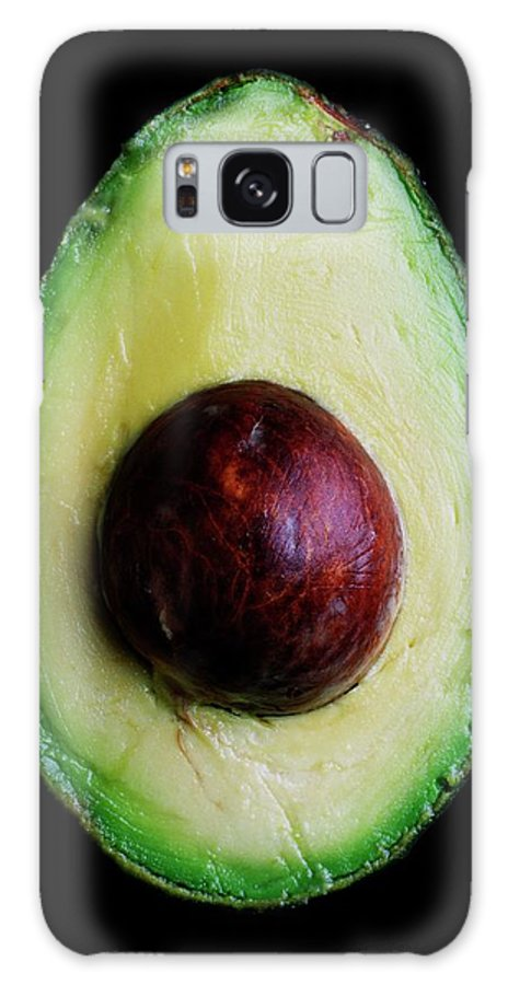 Fruits Galaxy S8 Case featuring the photograph An Avocado by Romulo Yanes