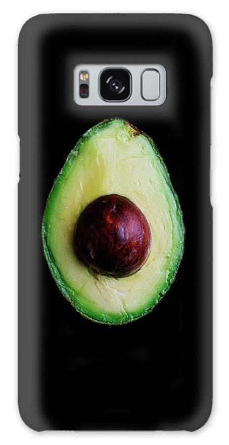 An Avocado Galaxy Case